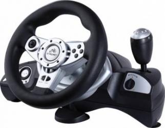 Volan cu pedale Tracer Zonda PS2 PS3 PC Gamepad & Joystick