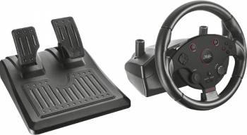 Volan cu pedale Trust GXT 288 compatibil PC PS3 Gamepad & Joystick