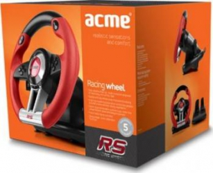 Volan cu vibratii Acme RS Gamepad & Joystick