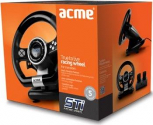 Volan cu vibratii Acme STI Gamepad & Joystick