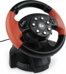 Volan cu pedale Gembird Multi-interface vibrating (PC/PS2/PS3) Gamepad & Joystick