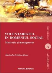 Voluntariatul in domeniul social - Marinela-Cristina Simon