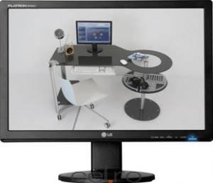 imagine Monitor LCD 20 LG W2042S-SF w2042s-sf