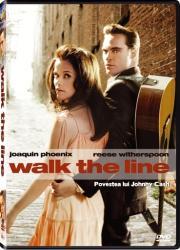 WALK THE LINE DVD 2005