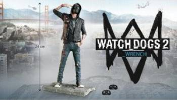 WATCH DOGS 2 WRENCH FIGURINE Gaming Items