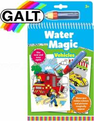 Water Magic Carte de colorat Vehicule Galt Carti