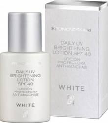 Crema de zi Bruno Vassari Whitening Line Daily Brightening Lotion UV SPF 40 Creme si demachiante