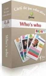 Whos who - Carti de joc educative Carti