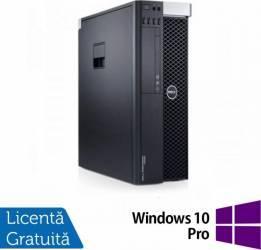 Workstation Refurbished Dell Precision T3600 E5-1650 24GB 2TB 120GB SSD Nvidia Quadro 2000 1GB Win 10 Pro Calculatoare Refurbished