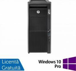 Workstation Refurbished HP Z820 2 x E5-2670 128GB 2TB 480GB SSD nVidia K5000 Win 10 Pro calculatoare refurbished