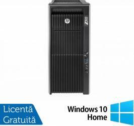 Workstation Refurbished HP Z820 2 x E5-2670 64GB 2TB + 240GB SSD nVidia K2000 Win 10 Pro calculatoare refurbished