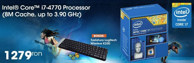Procesor Intel Core i7-4770 3.4 GHz Socket 1150 Box