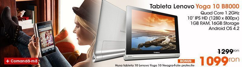 Tableta Lenovo Yoga b8000