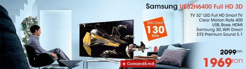 TV Samsung UE32h6400