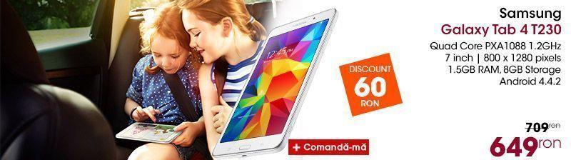 Tableta Samsung Galaxy Tab4 t230 white