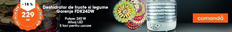 deshidrator fructe