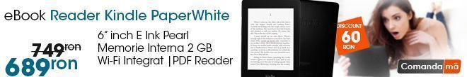 eBook Reader Kindle PaperWhite Wi-Fi
