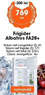 frigider albatros
