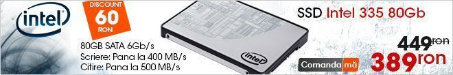 SSD Intel 335 Series 2.5 inch 80GB SATA III