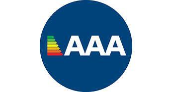 Performanţă ridicată cu clase energetice 3AAA