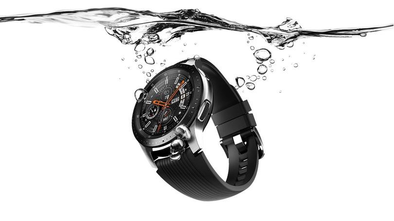 Ceas Smartwatch Samsung Galaxy Watch 42mm Nfc Gps Wifi Rose Gold