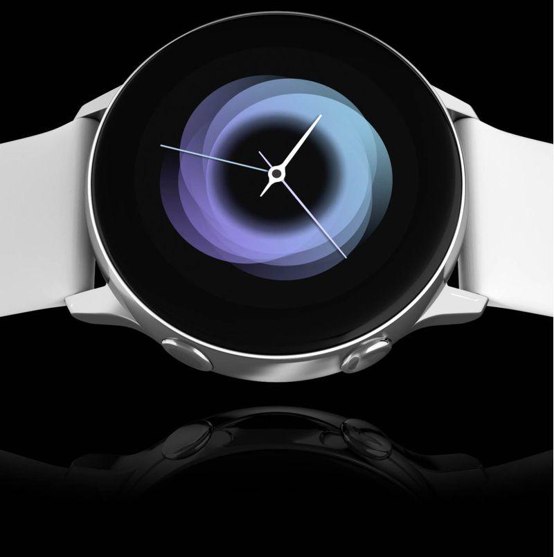 Ceas Smartwatch Samsung Galaxy Watch Active Rose Gold
