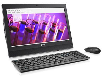 OptiPlex 3050 all-in-one – performanţă fiabilă, implementare uşoară