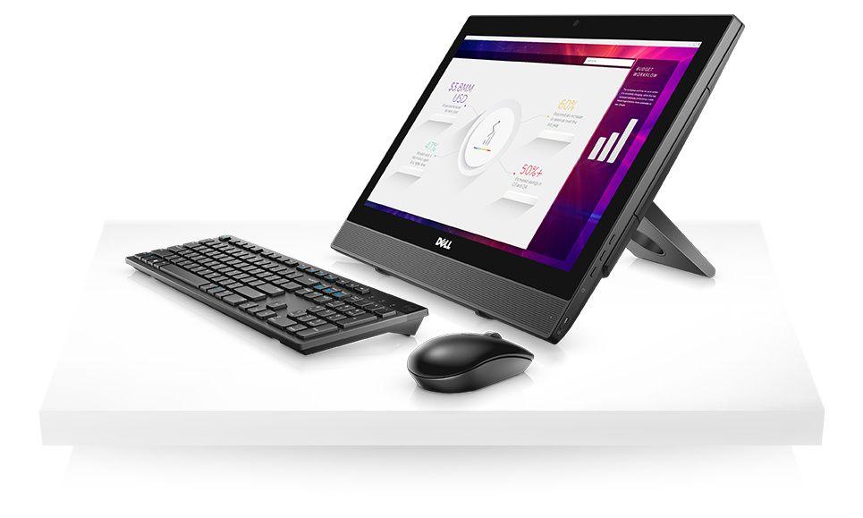 OptiPlex 3050 all-in-one – îmbunătăţiţi-vă productivitatea