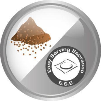 Cafea măcinată şi Easy Serving Espresso (espresso uşor de servit) (E.S.E.)