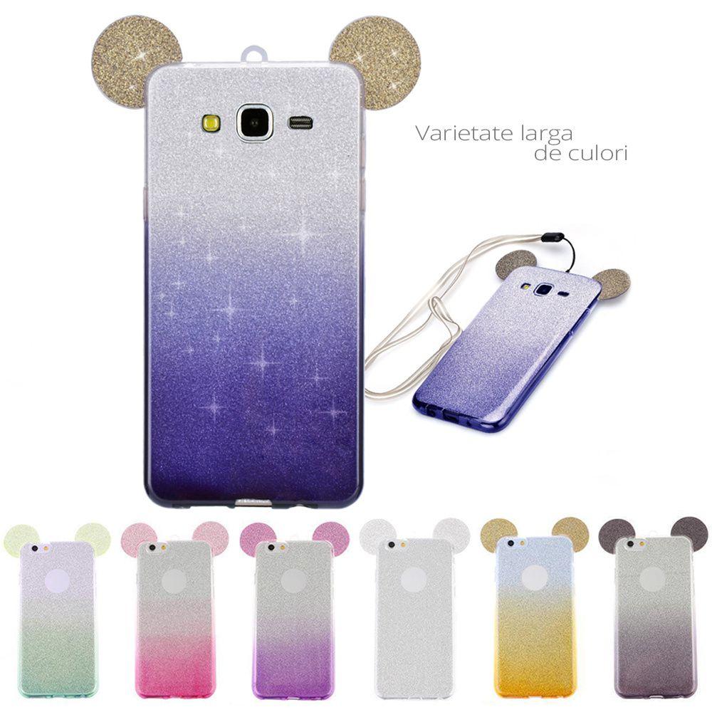 93f4d8b13e9 Previne aparitia semnelor de uzura pe carcasa. Caracteristici Husa Silicon  Cu Urechi Samsung Galaxy J7 Prime ...