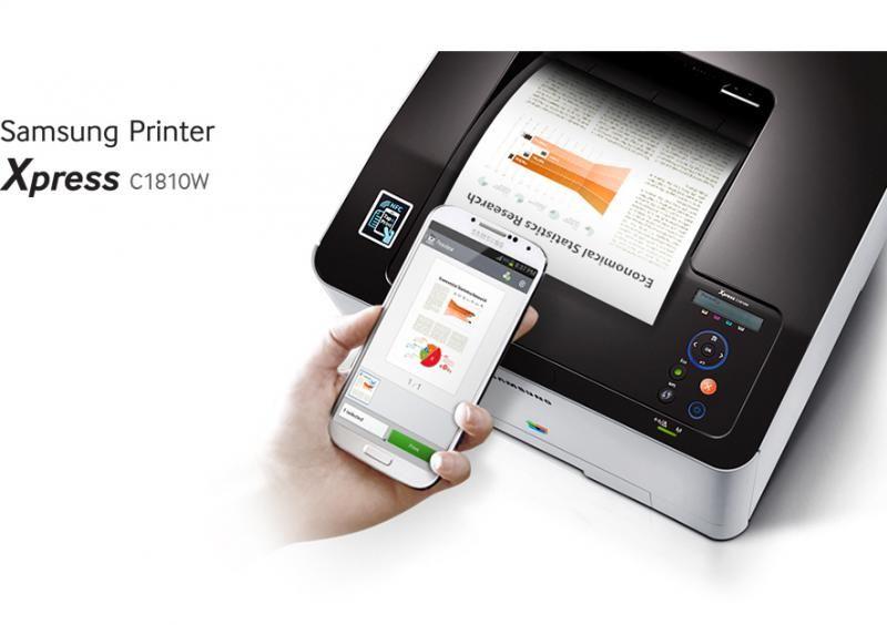 samsung printer xpress c1810w - Imprimanta Color