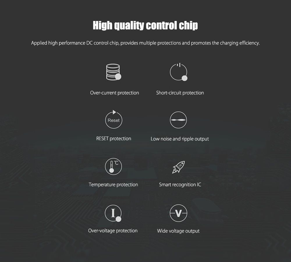 ROIDMI 3S Dual USB Ports Bluetooth Music Car Charger