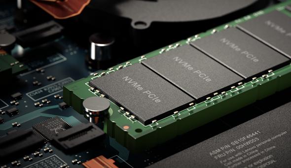 Soluție de stocare ultrarapidă cu SSD PCIe NVMe Samsung
