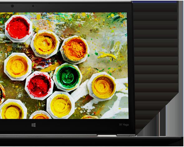 Uimitorul ecran 2K redă imagini vibrante și culori mai realiste.