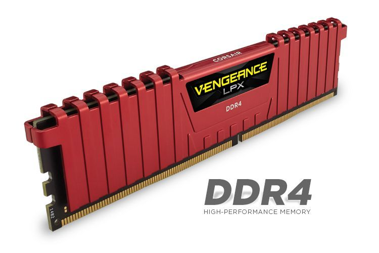 Memorie Corsair Vengeance LPX 32GB 4 x 8GB DDR4 3600MHz CL16 Red