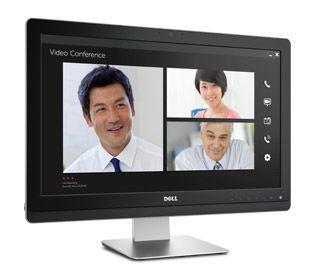 Monitorul de 22 de inchi Dell UltraSharp UZ2215H – comunicaţi cu ceilalţi cu ajutorul caracteristicilor multimedia Full HD