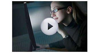 Tehnologia SoftBlue protejează ochii şi menţine culoarea
