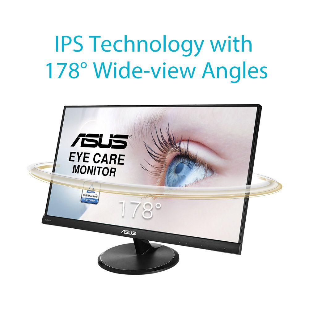 Monitor Led 23 Asus Vc239he Full Hd Ips 5ms Vc239h Eye Care Frameless Speaker Tuv 23inch Fullhd D Sub Hdmi