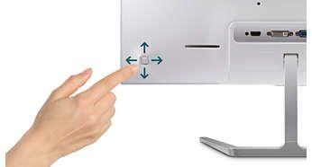 Tasta de comutare meniu EasySelect pentru acces rapid la meniul de pe ecran