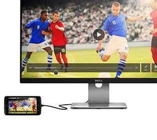 Monitorul S2415H – vizualizare flexibilă şi opţiuni de conectivitate.