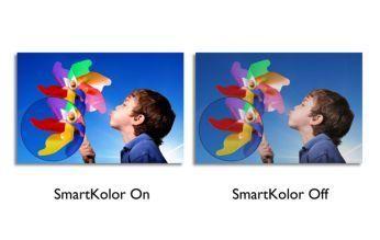 SmartKolor pentru imagini puternice, vibrante