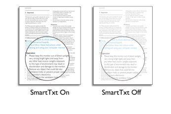 SmartTxt pentru o experienţă optimizată de citire