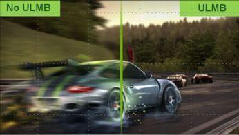 NVIDIA Ultra Low Motion Blur pentru acţiuni line