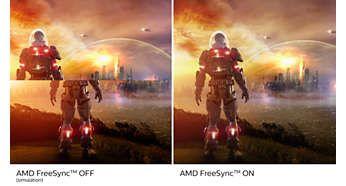 Jocuri cu redare lină cu tehnologia AMD FreeSync™