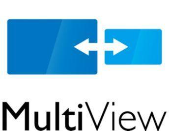 MultiView oferă conectare şi vizionare activă dublă în acelaşi timp