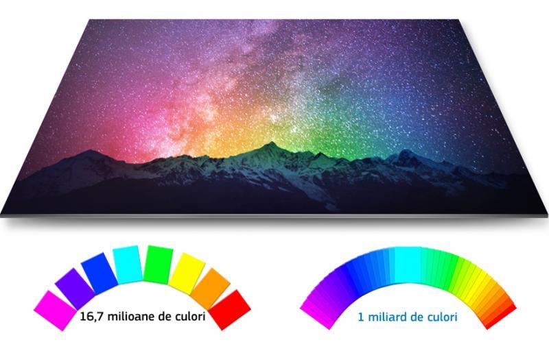 Toate culorile cu detalii bogate şi într-adevăr strălucitoare