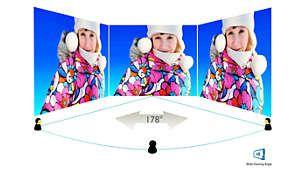 Afişajul VA oferă imagini uimitoare cu unghiuri largi de vizionare