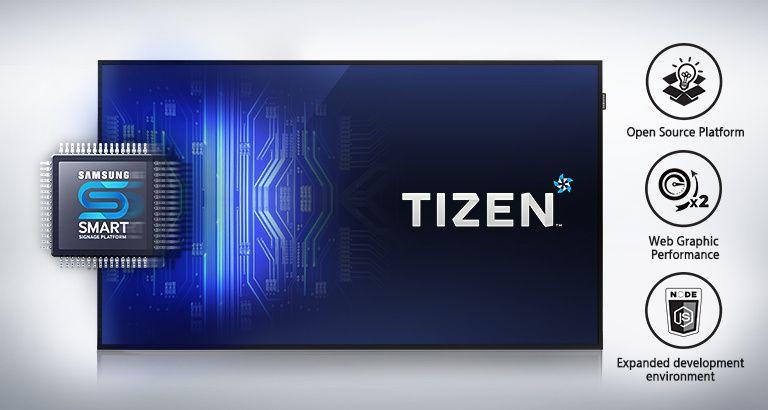 Noul player media încorporat cu sistem de operare TIZEN