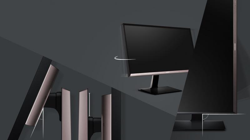 Un monitor ergonomic profesional pentru nevoile cu adevărat profesionale