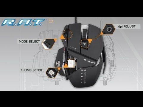 MadCatz Cyborg R.A.T. 5 Matte Black